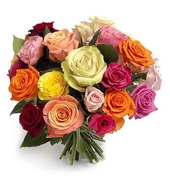 Cheerful Mixed Roses