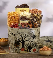 The Popcorn Factory Fright Night Snack Asst Tin