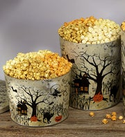 Popcorn Factory Fright Night 4Way Popcorn Tin