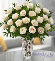 Marquis by Waterford� White Roses for Sympathy