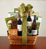 Special Celebration Wine and Gourmet Basket
