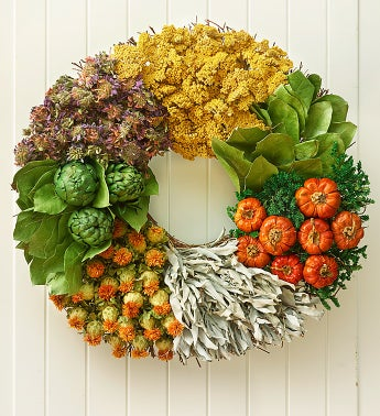 Preserved Culinary Herb Wreath - 18""