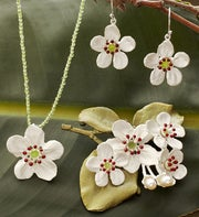 Survivor Tree Flower Pearl Jewelry Collection