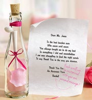 Personalized Message in a Bottle� Teacher