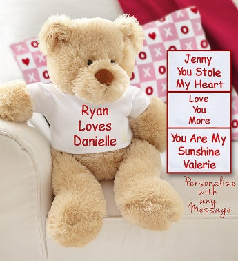 Personalized Love Bear