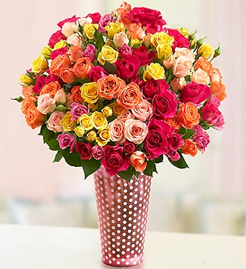 Buy 2 and Get $10 OFF on Spring Spray Roses at 1800flowers.com
