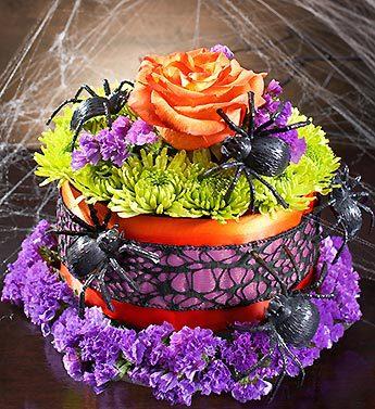 Itsy Bitsy Spider Flower Cake?