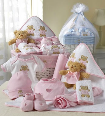 Comfy Baby Newborn Boy or Girl Basket