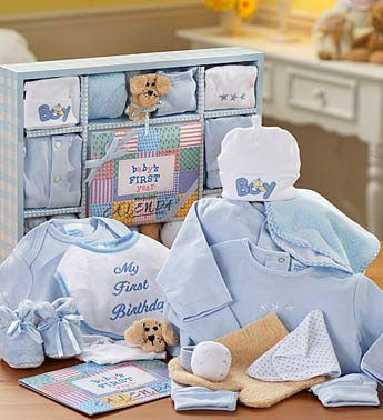 Puppy Dog Tails First Year Gift Set