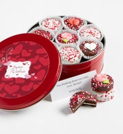 Sweetheart Chocolate Oreo Tin - 1800baskets.com