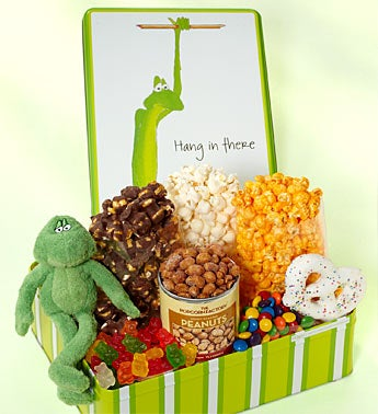 The Popcorn Factory Hang In There Deluxe Sampler