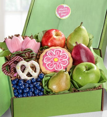 Happy Mother?s Day Fruit & Sweets Gift Box
