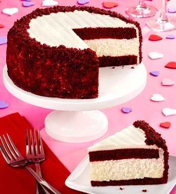 Junior's Red Velvet Cheesecake