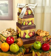 Sympathy Fresh Fruit Tower - 1800baskets.com