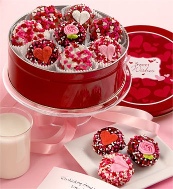 Sweetheart Belgian Chocolate Covered Oreo® Tin