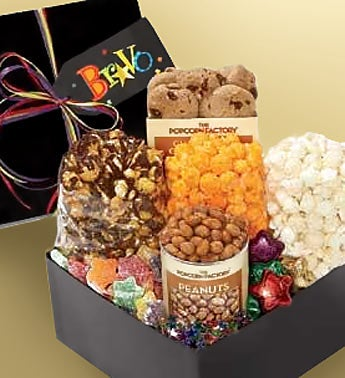 The Popcorn Factory Bravo Sampler Box