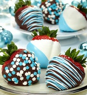 Fannie May Hanukkah Chocolate Strawberries