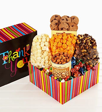The Popcorn Factory� Thank You Wishes Sampler Box
