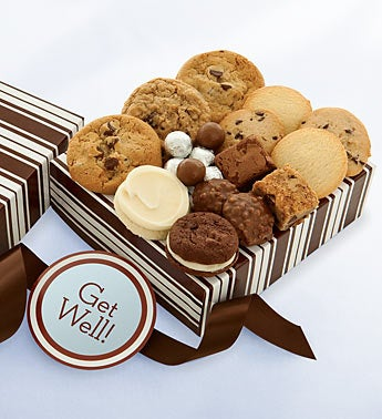 Cheryl?s Get Well Cookies & Treats Gift Box