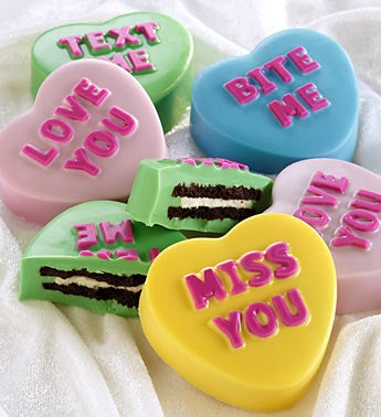 Love Note Conversation Heart Dipped Oreo� Cookies