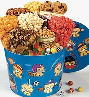 The Popcorn Factory� Sports Pals Snack Tin
