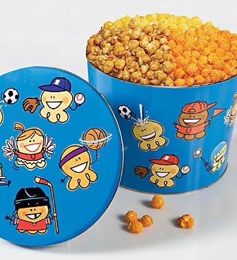The Popcorn Factory� Sports Pal Popcorn Tin