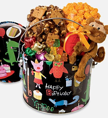 The Popcorn Factory® Birthday Animal Fun Pail