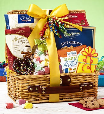 It?s Your Big Day Happy Birthday Gift Basket