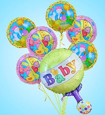 Birthday Balloons Love And Romance Anniversary Baby Same Day Delivery