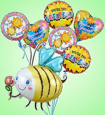 Bumble Bee Mylar Bundle