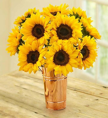Sunflower Bouquet, 10 Stems