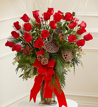 Beautiful Blessings Vase Arrangement - Holiday