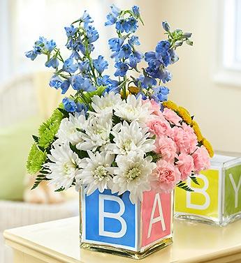 New Baby Flower Gift