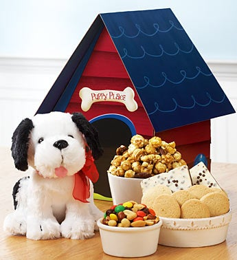 Dog House Full of Snacks
