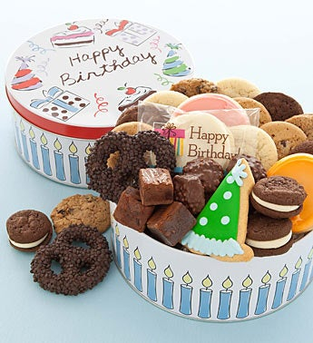 Cheryl's Musical Birthday Cookie Tin