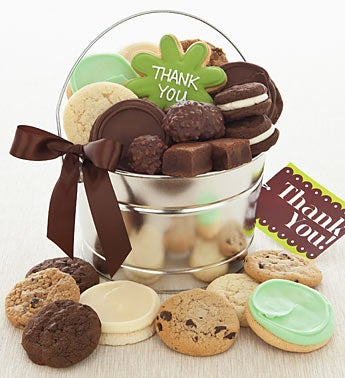 Cheryl?s Thank You Gourmet Cookie & Treats Pail