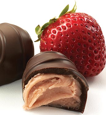 Fannie May Dark Chocolate Strawberry Creams