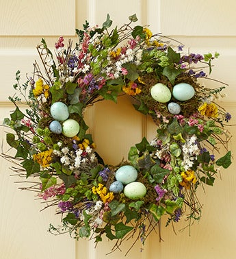 Spring Nest Wreath