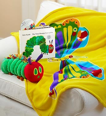 The Very Hungry Caterpillar Blanket & Book Set