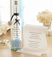 Personalized Message in a Bottle� for Sympathy