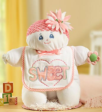 Sweet Baby Girl Doll Gift Set