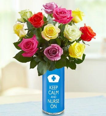 Keep Calm and Nurse On Bouquet