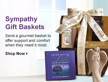 Sympathy Gift Baskets and Food